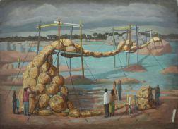 2014, Oil on canvas, 60cm x 44cm