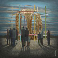 2015, Oil on canvas, 40cm 40cm