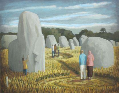 2014, Oil on canvas, 55cm x 45cm