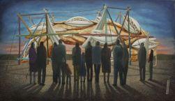 2014, Oil on canvas, 64cm40cm