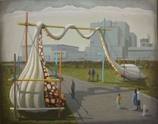 2014, Oil on canvas, 56cm x 46cm