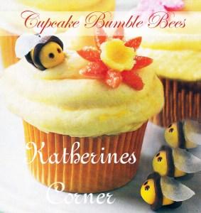 cupcake bumble bees katherines corner
