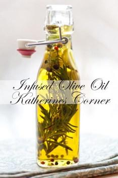 infused olive oil Katherines Corner