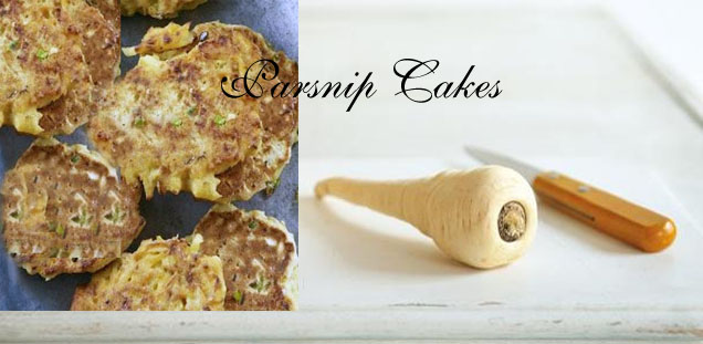 spicy parsnip cakes
