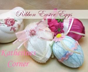 ribbon easter egg craft katherines corner