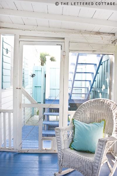 beach cottage porch katherines corner