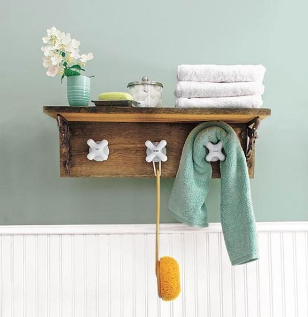 cute bath shelf