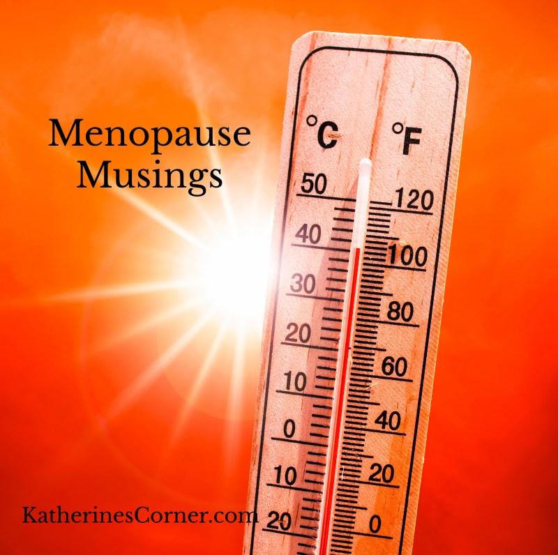 menopause musings damn im hot