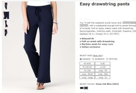 easy drawstring pants