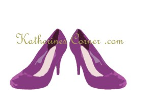 my purple shoes