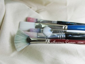 my paint brushes