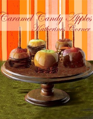 caramel candy apples katherines corner