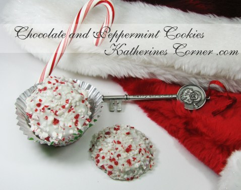 chocolate and peppermint cookies Katherines Corner