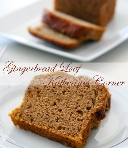 gingerbread loaf