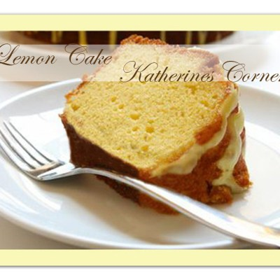 Meals on Monday Lemon Cake