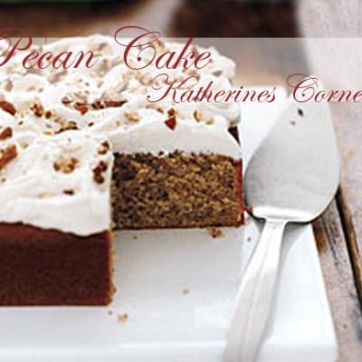Post Christmas Pecan Cake
