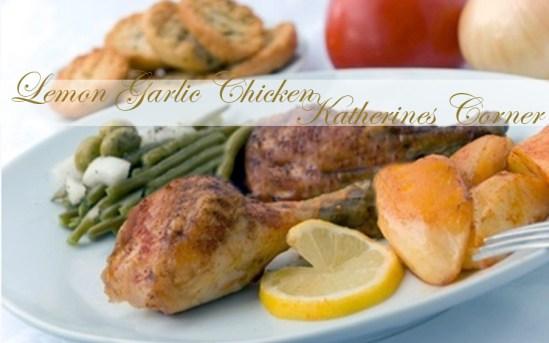 lemon garlic chicken katherines corner