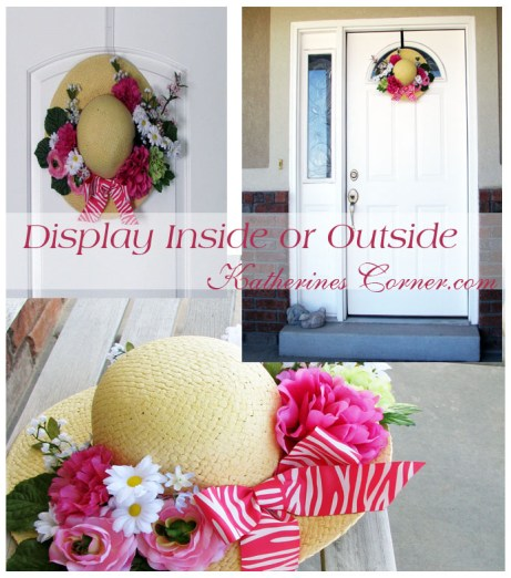 spring hat craft display katherines corner