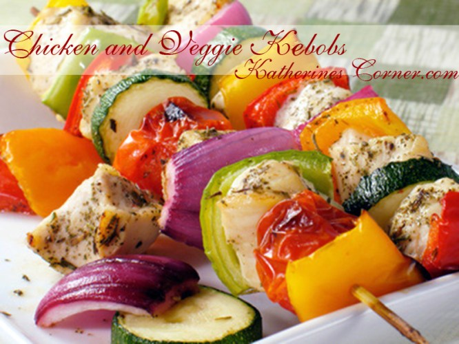 chicken and vegetable kebobs katherines corner