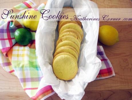 sunshine cookies recipe