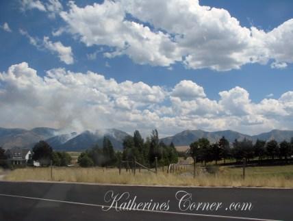 utah wildfires