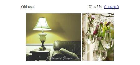 new use for light bulbs