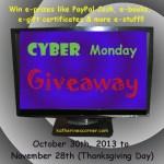 GiveawayCyberMonday