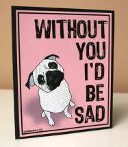 without you card