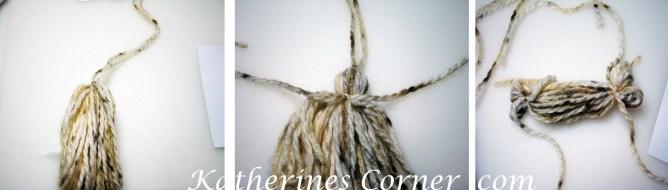 how to make a yarn angel steps 4 5 6