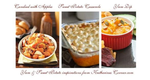 yam and sweet potato recipes