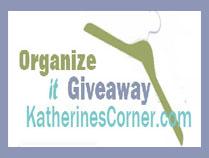 organize it giveaway