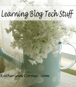 learning blog technical stuff