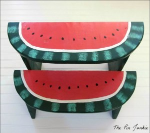watermelon step stool 4
