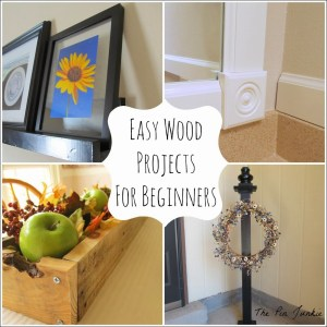 wood projects for beginners