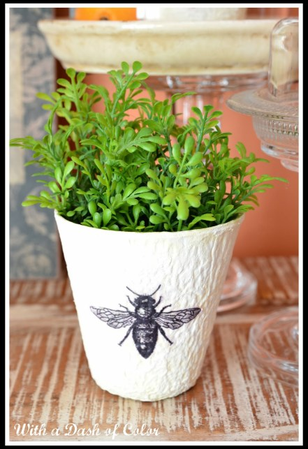bee planter pot