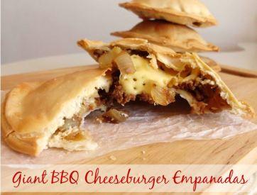 bbq cheeseburger empanadas