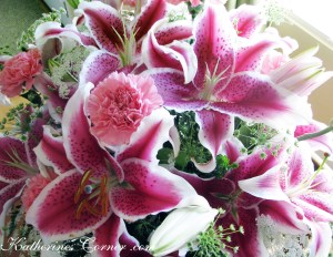 lilies and carnations
