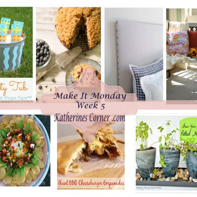 make it Monday week five