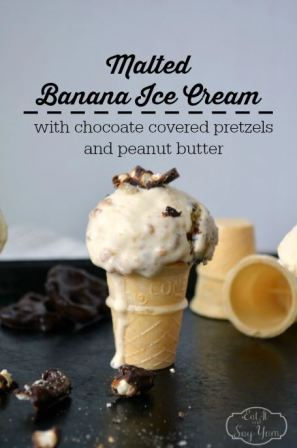 malted banana ice cream