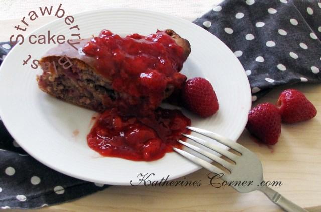 no sugar added strawberry blast cake recipe
