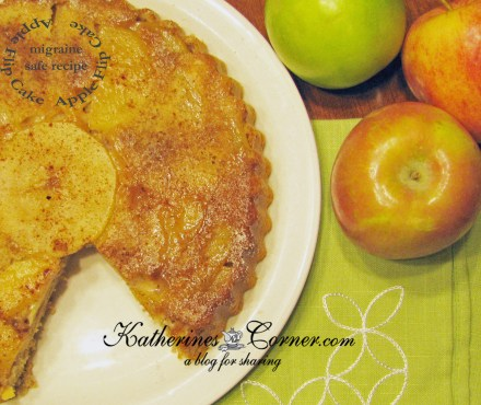 apple flip cake