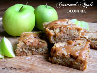 caramel-apple-blondies