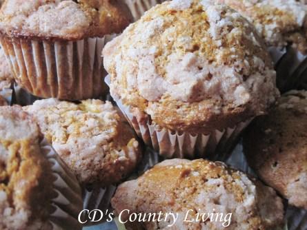 pumpkin strudel muffins