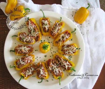 stuffed mini bells appetizer