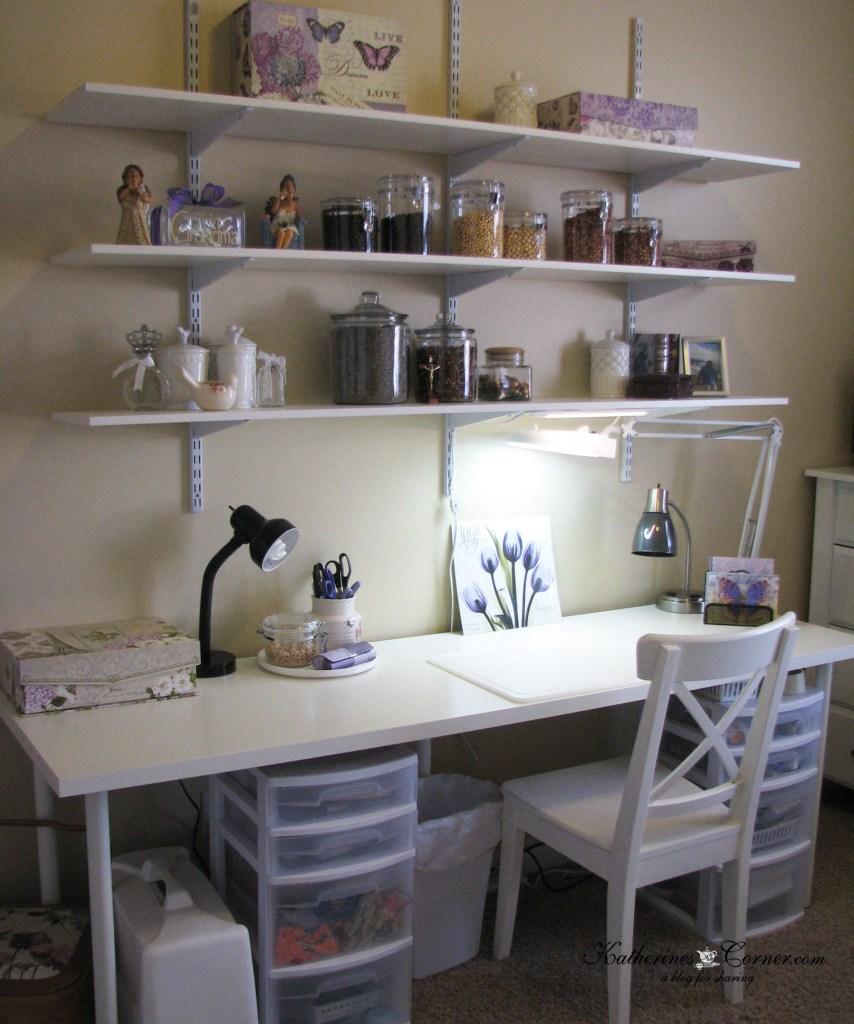 craft room transformation