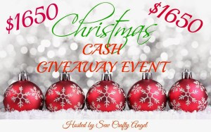 birthday plus Christmas Cash Giveaway