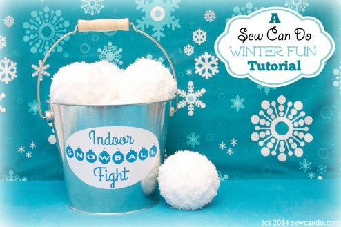 indoor snowball craft