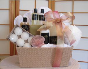 selona beauty spa hostess gift basket