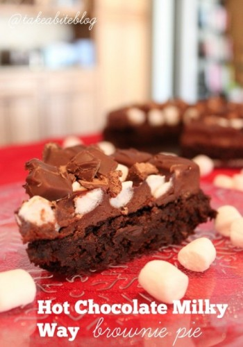 ot chocolate milky way brownies