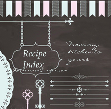 recipe index katherines corner